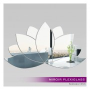 Stickers Muraux Miroir Plexiglass Acrylique -Nénuphar 1