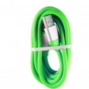 EW 1,2 m de largo de color brillante duradera Micro USB Cargador Cable de datos para Android