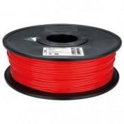 Filament PLA pentru imprimanta 3D 1KG 3 mm rosu Velleman