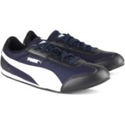Puma 76 Runner DP Sneakers For Men(Black, Blue)