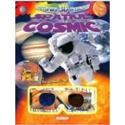 Cartea mea 3D de colorat Spatiul cosmic