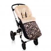 Saco Custom Baby Ace Pelo Marfil Victorio & Lucchino Letras Black