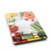 Praktikus digitális konyhai mérleg - Különböző mintákban - Paradicsomos