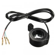 Meco Universal 7/8inch Thumb Throttle Assembly for E-Bike Electric Bike Scooter 3 Wires