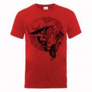 Marvel Camiseta Marvel Los Vengadores Thor Monocromo - Hombre - Rojo - XL - Rojo