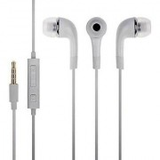 Earphone Of Small Mic Headphone ( white )