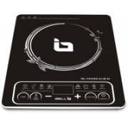 iBELL Crown Slim 50 2200-Watt Induction Cooktop(Black, Push Button)