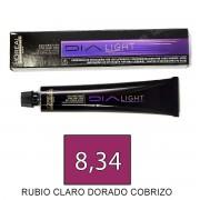 Loreal DIALIGHT 8,34 Rubio Claro Dorado Cobrizo -tinte 50ml