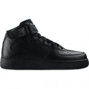 Nike W Air Force 1 Mid'07 Zwart - Size: 38,5