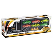 Toys Bhoomi Truck Carry Case City Set Cars - Multi Color
