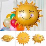 Balon din folie de aluminiu în formă de Soare