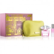 Versace Bright Crystal lote de regalo IX. eau de toilette 90 ml + eau de toilette 10 ml + bolsa para cosméticos