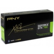 Tarjeta de Video PNY NVIDIA GeForce GTX 750, 1GB 128-bit GDDR5, PCI Express 3.0