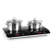 Klarstein VariCook Neo Table de cuisson à induction 2 feux 3500W vitrocéramique