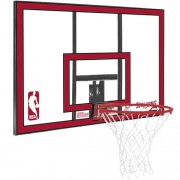 Spalding Backboard NBA POLYCARBONAT - transparent/rot