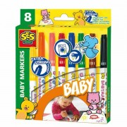 Lobbes SES My first Baby Markers, 8st.