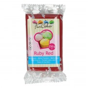 FunCakes Rolfondant -Ruby Red- -250g-