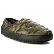 Пантофи THE NORTH FACE - Thermoball Traction Mule IV T9331EZFP Shiny Burnt Olive Green/Black Ink Green