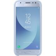 Samsung dual layer cover - blauw - voor Samsung Galaxy J3 2017