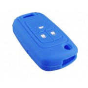 Husa Chevrolet Cruze 3 butoane albastra