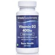 Simply Supplements Vitamin-d-400iu