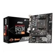 MSI Main Board Desktop B450 (SAM4, 2xDDR4, 1xPCI-Ex16, 1xPCI-Ex1,6 x USB3.2, 6 x USB2.0, 4xSATA III, M.2, DVI-D, HDMI, GLAN) mATX Retail (B450M-A_PRO_MAX)
