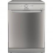 Indesit DFE1B19X Freestanding Dishwasher-Silver