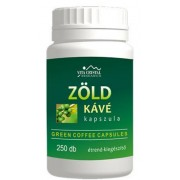 Zöld kávé kapszula - 250 db