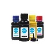 Kit 4 Tintas Sublimáticas para Epson L365 Bulk Ink CMYK 100ml Koga