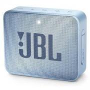 БЛУТУТ КОЛОНКА JBL GO 2 СВЕТЛОСИН, ДО 10 m, 180Hz - 20000Hz, 3.5 mm jack, JBL-GO2-CYAN