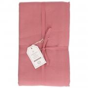 Dille&Kamille Nappe, coton, rose foncé, Ø 180 cm
