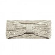 Headband met strik en imitatie parels