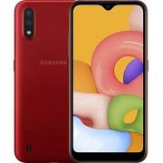 Samsung Galaxy A01 GSM teléfono desbloqueado, versión internacional, Rojo