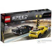 LEGO® Speed Champions 75893 2018 Dodge Challenger SRT Demon i 1970 Dodge Charger R/T