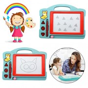 Magnetic Doodle Drawing Writing Board, Non-Toxic Color Writing Painting Erasable Sketching Sketch Pad for Toddlers Kids Girls Boys