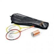 Set badminton 2 rachete cu fluturasi Basic