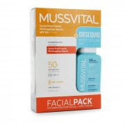 Sun Mussvital Pack Facial Fluid Cream Photoageing Repair SPF50+ 50ml + Locion Post Solar 100ml de REGALO