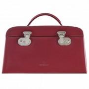 Windrose Merino Caja para joyas joyero 29,5 cm Rot