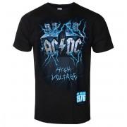 Herren T-Shirt Metal AC-DC - LIVE WIRE - LIQUID BLUE - 31887