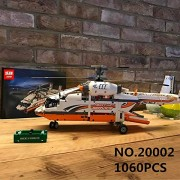 Generic Lepin Technic Series 20002 1060PCS Heavy Lift Helicopter Sets Compatible 42052 Building Toys Blocks Bricks Kits Children Gifts