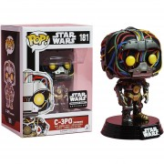 Funko Pop C-3po Unfinished Por Anakin Exclusivo Star Wars Con Cables