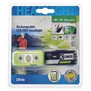 P3534 Cree 5W 230lm fejlámpa infrakapcsolós, újretölthető