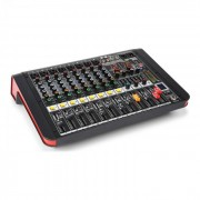 Power Dynamics PDM-M804A Mesa de mezclas 8 entradas para micrófono Procesador multi-FX de 24 bits Reproductor USB (Sky-172.614)