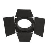 Torblende für Schienenstrahler Luna 30 schwarz