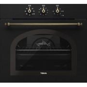 TEKA HRB 6100 AT Horno Rustico Color Negro Antracita Multifunción Abatible Limpieza Hydroclean