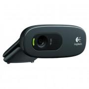 Webkamera, beépített mikrofonnal, USB, LOGITECH, \C270\
