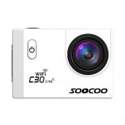 Alician SOOCOO C30R Sports Action Camera WiFi 4K Gyro visualización LCD de 2,0 pulgadas 30 m impermeable ángulo ajustable cámara Blanco SZXSQ-SH0521PEL_046DWA7C