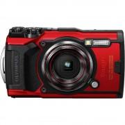 Digitalni fotoaparat Olympus Tough TG-6 12 MPix Zoom (optički): 4 x Crvena GPS, Otporan na udarce, Vodootporno do 15 m, Otporan