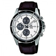 Casio Quartz White Round Men Watch EX097