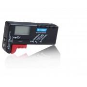 Tester pentru baterii AAA, AA, 9V, R14, R20